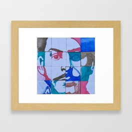 Uncle Joe Framed Art Print