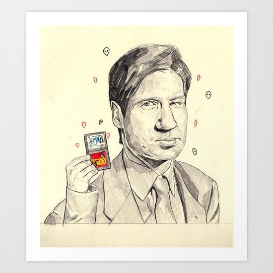 Mulder Art Print
