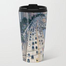 Sunday Rush Hour, New York City Travel Mug