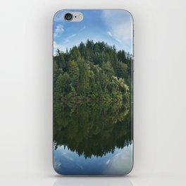 Reflection - Lake Alpine iPhone Skin