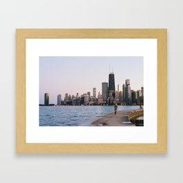 Chicago Skyline Framed Art Print