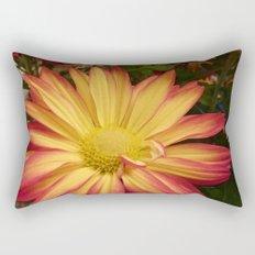 Fiery Flower Rectangular Pillow