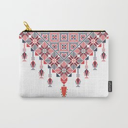 Palestinian tatreez embroidery pattern Carry-All Pouch