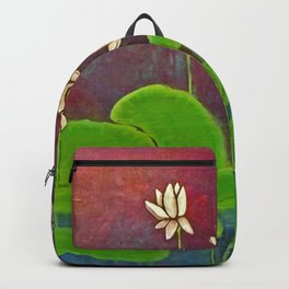 Lotus Crop from Golden Buddha Backpack