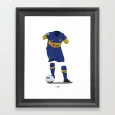 Boca Juniors 2011/12 Framed Art Print