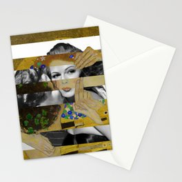 Klimt's The Kiss & Rita Hayworth with Glenn Ford Stationery Cards