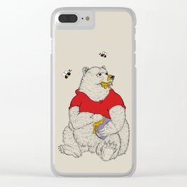 Silly ol' Bear Clear iPhone Case