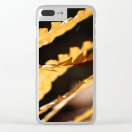 Gold 1 Clear iPhone Case