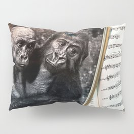 Melody for a Monkey - BERLIN - Germany Pillow Sham