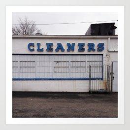 Cleaners Art Print