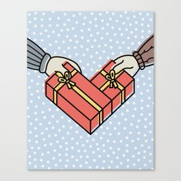 heart gifts Canvas Print
