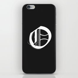 Letter O iPhone Skin