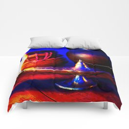 Magic Lamp of Aladdin. Call out the Genie Comforters