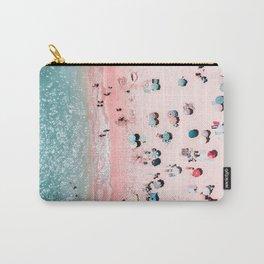 Ocean Print, Beach Print, Wall Decor, Aerial Beach Print, Beach Photography, Bondi Beach Print Carry-All Pouch