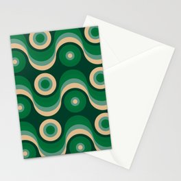 70s Optical Wallpaper Stationery Cards