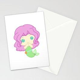 Kawaii Mermaid Stationery Cards