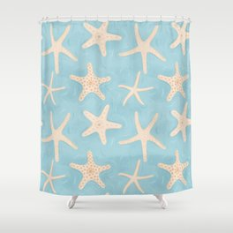 Starfish in the Water Shower Curtain