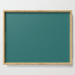 Emerald Coast Green - Solid Color Collection Serving Tray