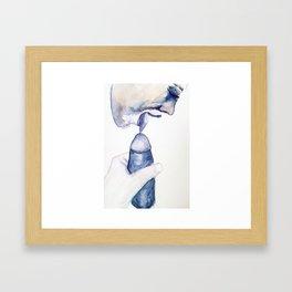 SEXYSCRIBBLES - Tasteful Framed Art Print