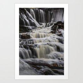 Majestic waterfall Art Print