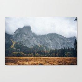 Beautiful Yosemite in Fall Canvas Print