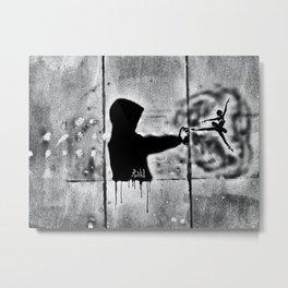 Spray Arts Metal Print