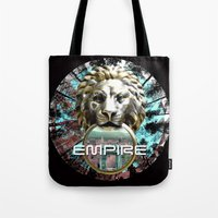 lions Tote Bags featuring LIONS by infloence
