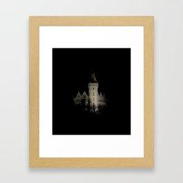 Castle in Bergen Framed Art Print