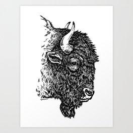 Sko Buffs! Art Print