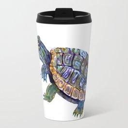 Slider Baby Turtle artwork Travel Mug