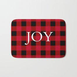 Joy Red Buffalo Check Bath Mat