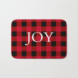 Joy Red Buffalo Check Bath Mat