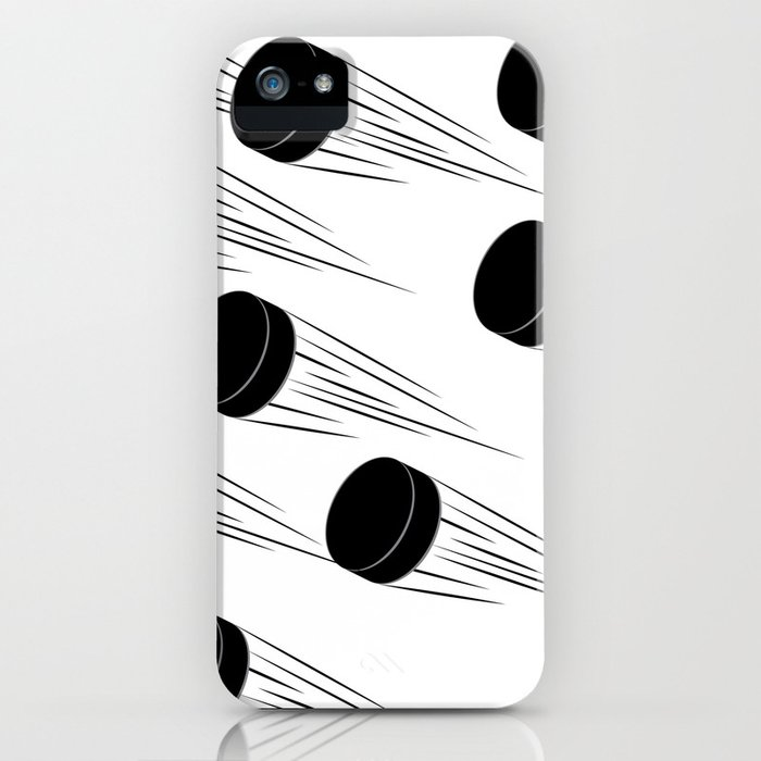 Ice Hockey Puck Iphone Case By Annartshock