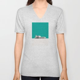Surbiton Station Unisex V-Neck