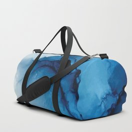 Blue Tides - Alcohol Ink Painting Duffle Bag