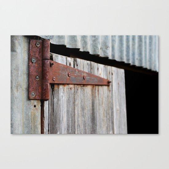 Hinge Canvas Print