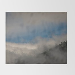 Olympic National Park Throw Blanket