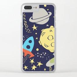 Gagarin Clear iPhone Case