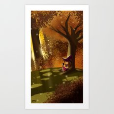 Autumn Approaches Art Print