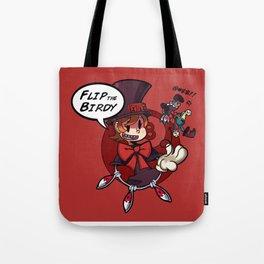 Skullgirls-Flip the Birdy Tote Bag