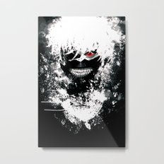 Kaneki Tokyo Ghoul Metal Print