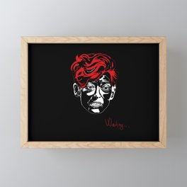 TILDA #portrait #actress #movie #tildaswinton Framed Mini Art Print