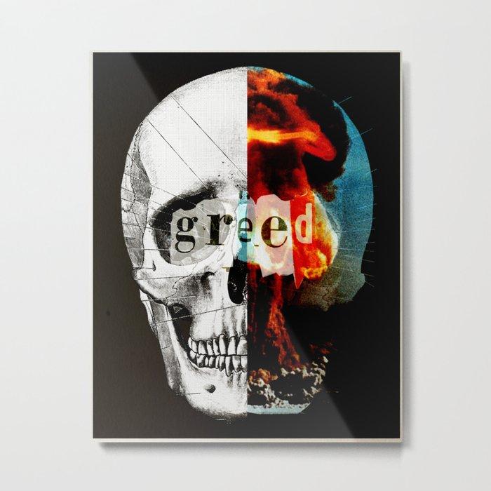 Explosion Metal Print