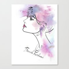 French perfume2 Canvas Print