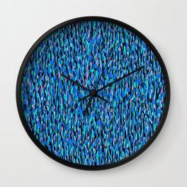 Globular Field 3 Wall Clock