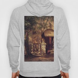 Sunlight And Shadow 1862 By Albert Bierstadt | Reproduction Painting Hoody