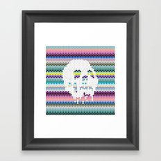 Color the Skull Framed Art Print