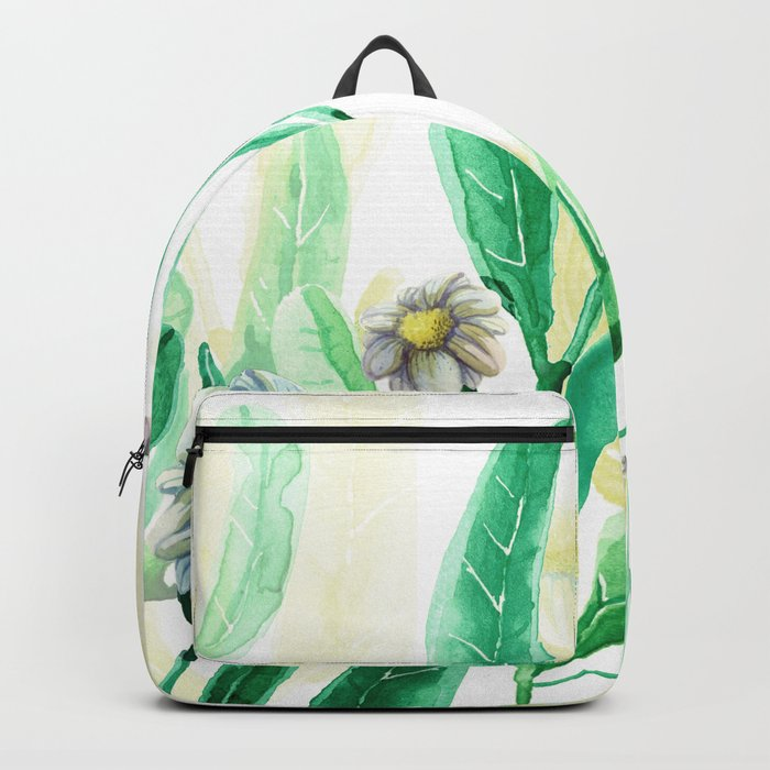 flowers all over Backpack
