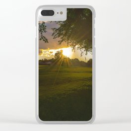 Rexdale Sunet Clear iPhone Case