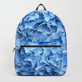 BABY BLUE HYDRANGEAS FLORAL ART Backpack